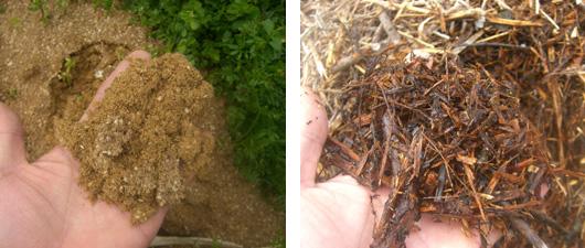配合肥料では、特別栽培農産物に使用できる有機質配合肥料も使用しているので安心です。